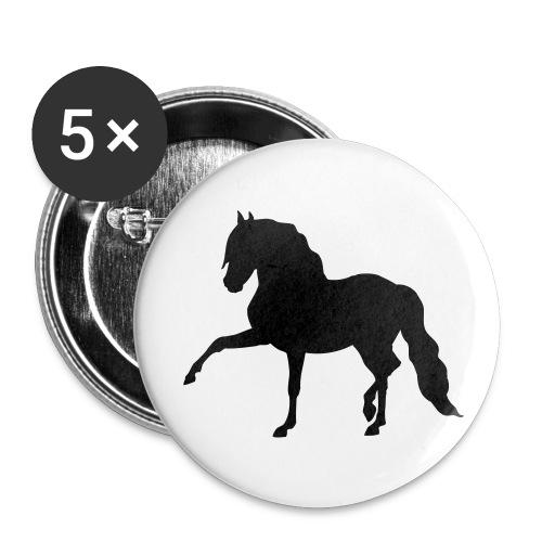 Button  Spaanse pas per 5 stuks - Buttons klein 25 mm
