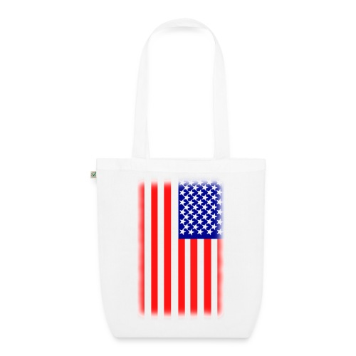 Sac drapeau américain - Sac en tissu biologique