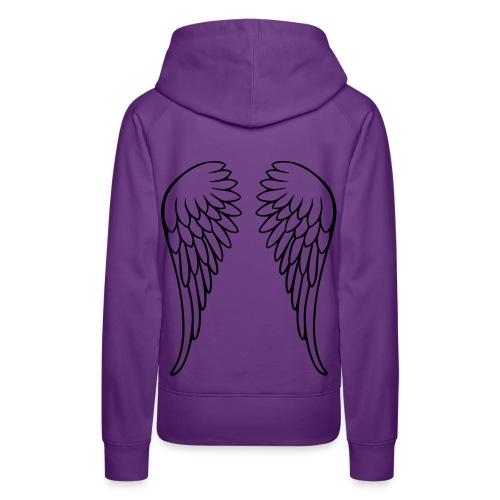 sweat capuche angel - Sweat-shirt à capuche Premium pour femmes