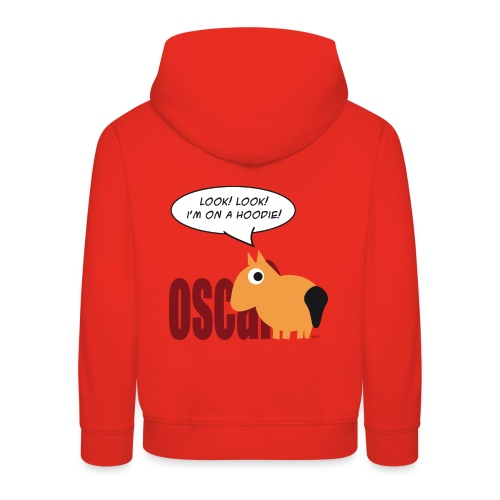 Oscar kindersweater - Kinderen trui Premium met capuchon