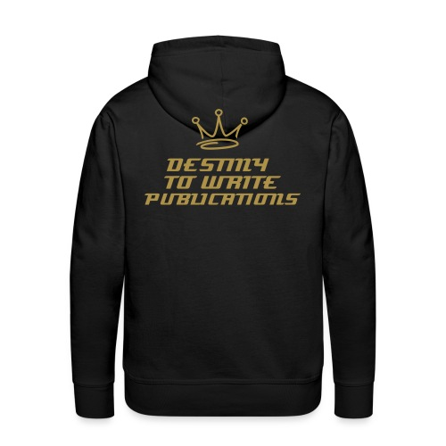 GOLD WRITING - DTWP CROWN - Men's Premium Hoodie