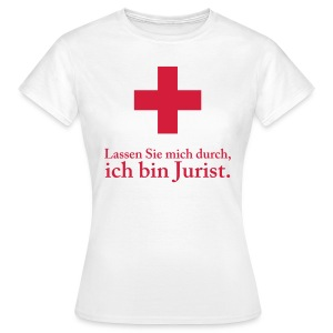 Notjurist II Woman - Frauen T-Shirt