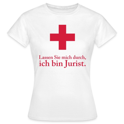 Notjurist II Woman - Frauen T-Shirt