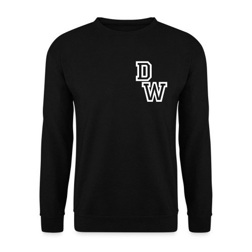 DopeWear, Crewneck Sort - Herre sweater