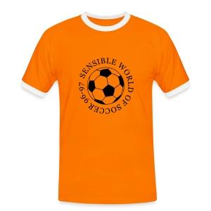 Backdrop (any colour) - Men's Ringer Shirt