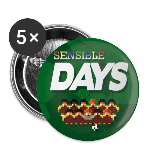 Sensible Days Buttons - Buttons large 2.2''/56 mm (5-pack)