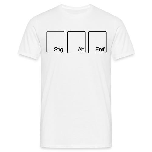 STRG ALT ENTF - Männer T-Shirt