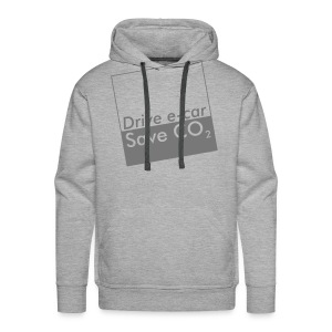 Drive e-car - Save CO2   © by TOSKIO-VTMS - Männer Premium Hoodie