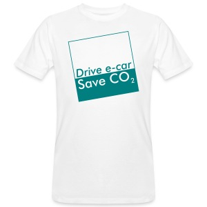 Drive e-car - Save CO2   © by TOSKIO-VTMS - Männer Bio-T-Shirt