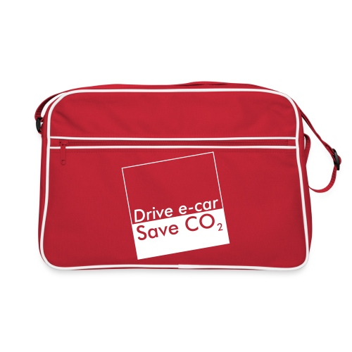 Drive e-car - Save CO2   © by TOSKIO-VTMS - Retro Tasche