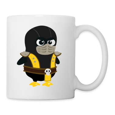 Penguin Mortal Scorpion Mugs