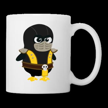 Penguin Mortal Scorpion Mugs
