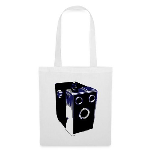 Box Camera Tote Bag - Tote Bag