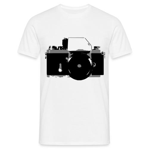 Retro SLR Mens T-Shirt - Men's T-Shirt