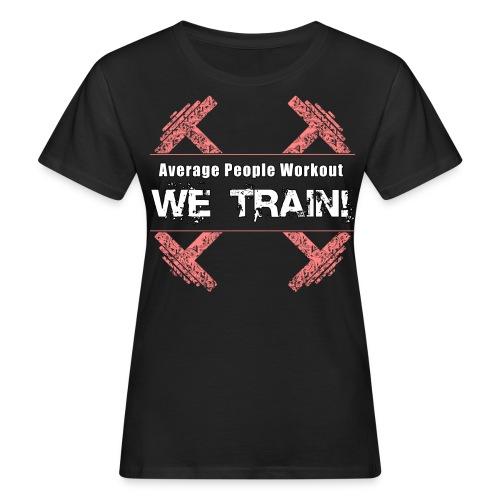 WOMENS We Train (Slim Fit) - Women's Organic T-shirt