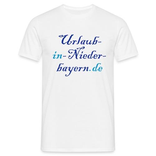 Urlaub in Niederbayern t-Shirt - Männer T-Shirt