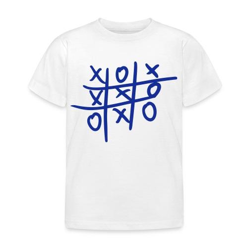 Tic Tac Toe - Maglietta per bambini
