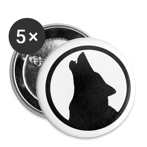 Wolf - Buttons small 25 mm