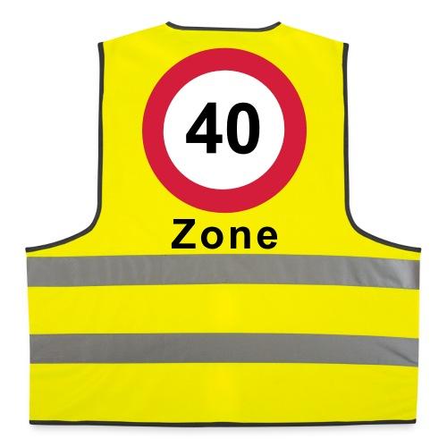 Warnweste 40 Zone - Warnweste