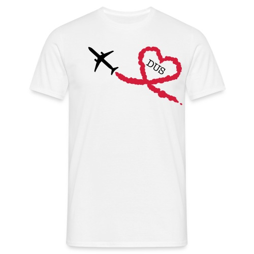 Love is in the air - DUS - Männer T-Shirt