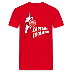 Captain England - Men's T-Shirt