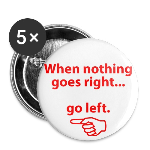 Noo Go Right :P - Buttons middel 32 mm