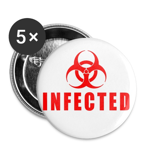 INFECTED! - Buttons middel 32 mm