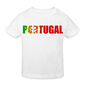 T shirt enfant portugal - T-shirt bio Enfant
