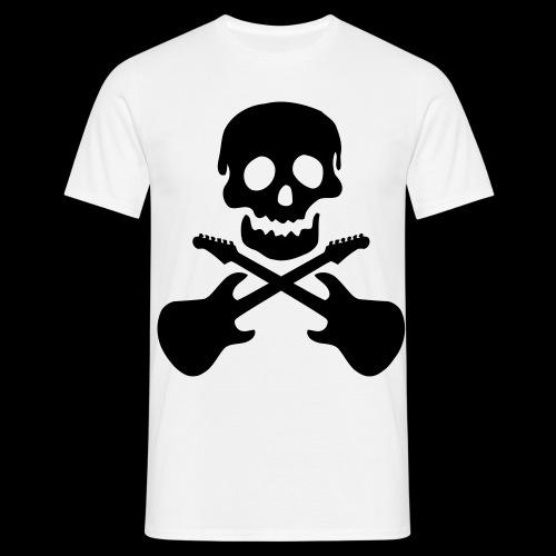 TShirt Skull Musik - Männer T-Shirt