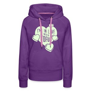 Womens - I'm in Love with a Tofu! - Frauen Premium Hoodie