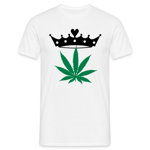 Cannabis-King - Männer T-Shirt