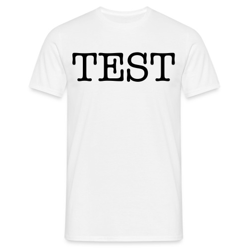 Test Shirt - Men's T-Shirt