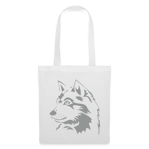 tiershirt t-shirt tier wolf wolves wild rudel pack alphatier alphawolf leitwolf howling - Stoffbeutel