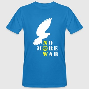 No More War Now - Männer Bio-T-Shirt
