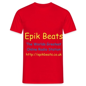 Epik Beats T Shirt - Men's T-Shirt