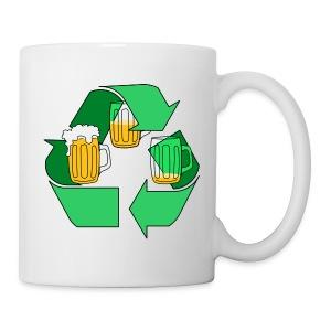 taza cerveza reciclable - Taza