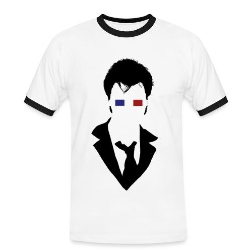 The Doctor observing the Void - Männer Kontrast-T-Shirt