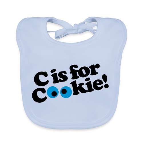 C Is For Cookie! - Bio-slabbetje voor baby's