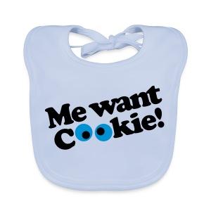Me Want Cookie! - Bio-slabbetje voor baby's