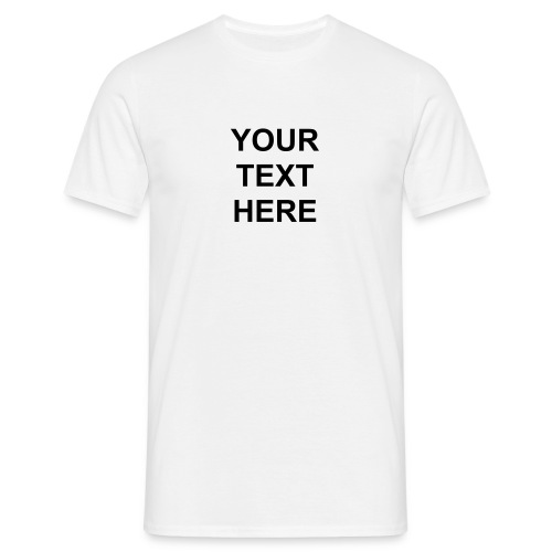 Personalized - Men's T-Shirt