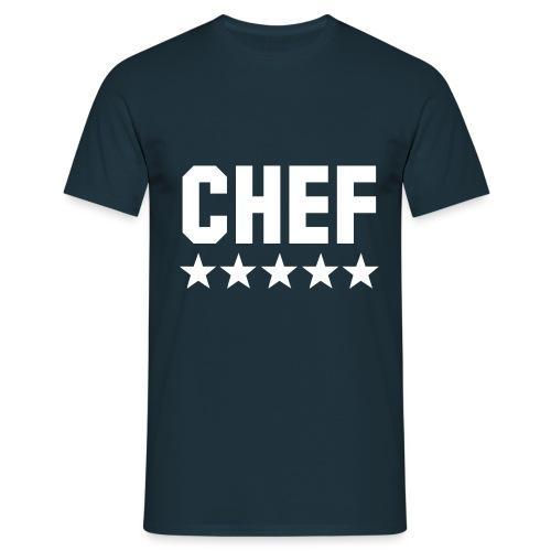 Männer T-Shirt klassisch: Chef ***** - Männer T-Shirt