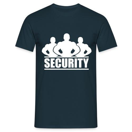 Männer T-Shirt klassisch: Security - Männer T-Shirt