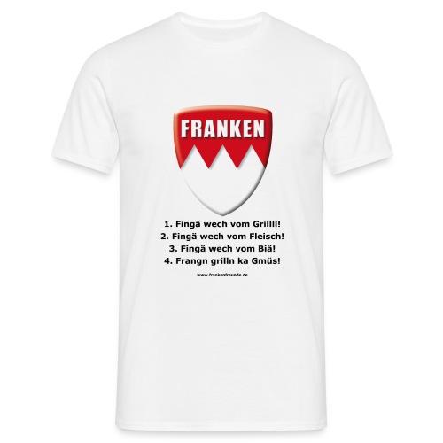 Grillmeister T-Shirt weiß - Männer T-Shirt