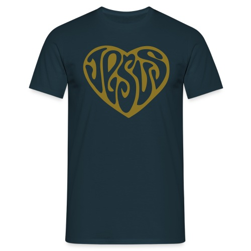 JESUS HERZ 1 - Männer T-Shirt