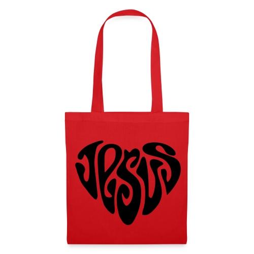 JESUS HERZ 2 - Stoffbeutel