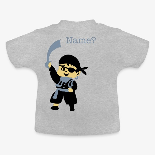 Pirate Kid Billy design by Patjila - Baby T-Shirt