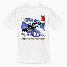 Scotland Tartan Army Football Kids_short
