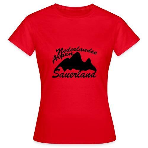 Nederlandse Alpen - Frauen T-Shirt