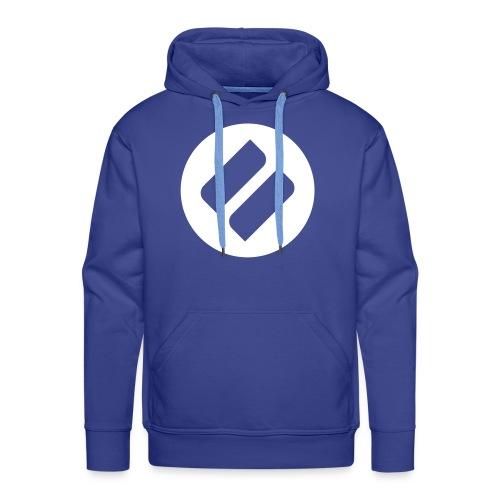 Azzuro cerchio hoodie - Men's Premium Hoodie