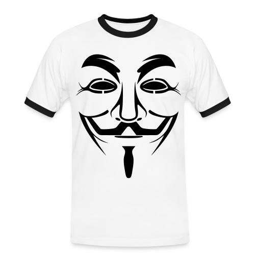 Anonymous 2coul - T-shirt contrasté Homme